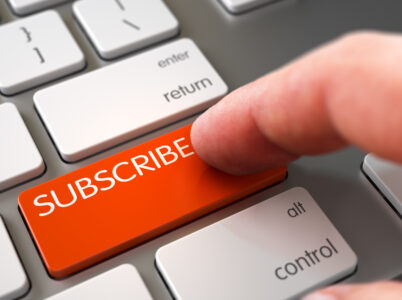 Subscriptions. What's it all about?